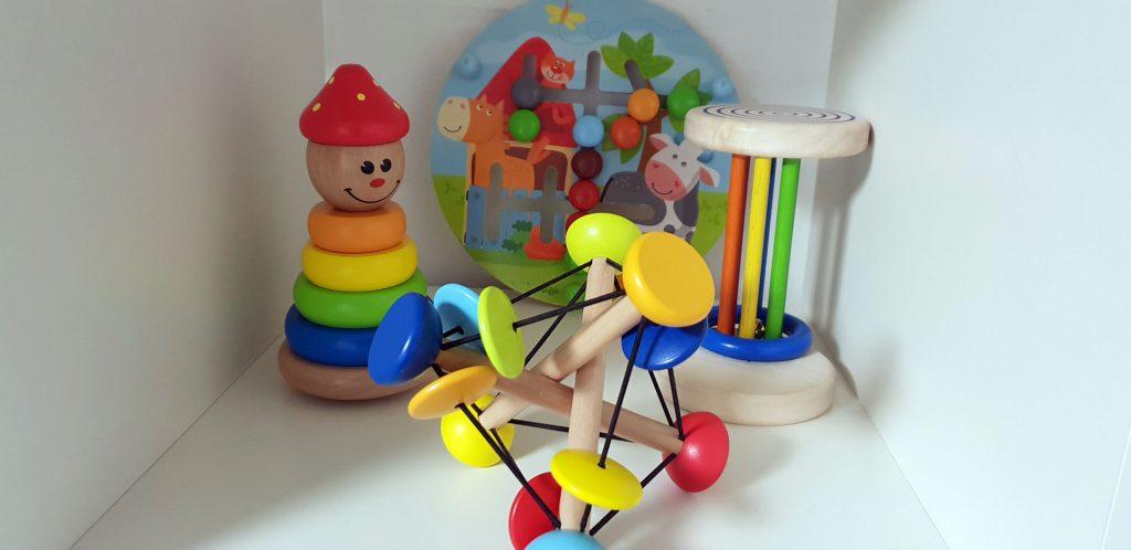 Lernspielzeug für die Krabbelgruppe