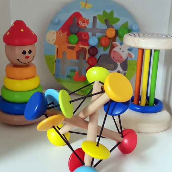 Lernspielzeug für die Krabbelgruppe und Workshops